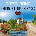 360-degree image editing services